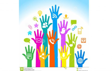 Design of hands and multimedia