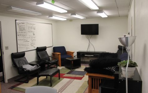 Picture of the Honors Hub room