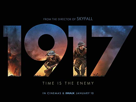 Promotional poster for Sam Mendes' 1917 (2019).