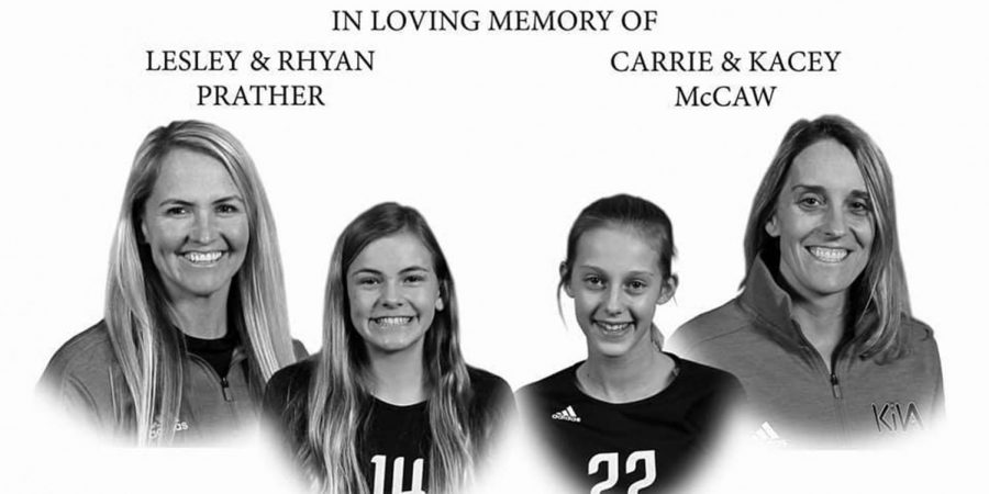 NCAA volleyball players die in a car crash with daughters