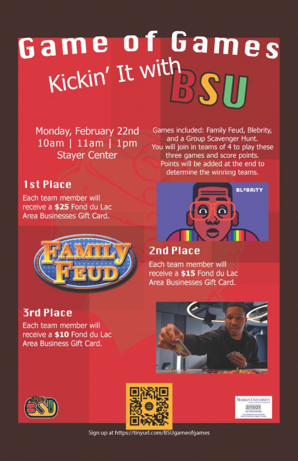 Game of games: Kicking it with the Marian University Black Student Union